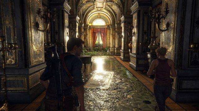 Auch ältere Spiele wie Uncharted 4 profitieren dank Update von HDR und 4K-Auflösung.