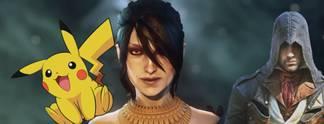 Bewegte Bilder zu Camp Pok�mon, Harvest Moon und Dragon Age 3 - Inquisition: Die Video-Wochenschau