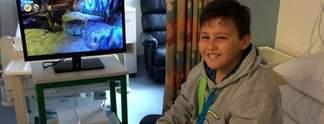 Panorama: PlayStation 4 aus Kinder-Krebsstation gestohlen
