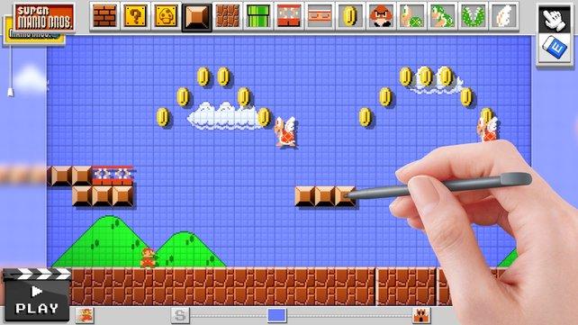 Wollt ihr lieber den Pixel-Mario aus Super Mario Bros.?