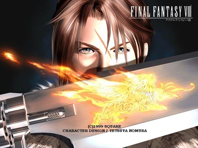 Die Gunblade sieht cooler aus als sie ist. In Final Fantasy 8 ist sie lediglich ein Schwert - ohne Schussfunktion.