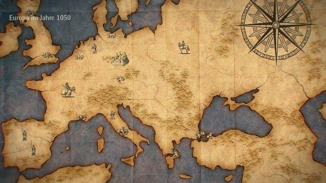 Im freien Spiel stehen euch Europa, Nordafrika und der Mittlere Osten zur Verfügung.