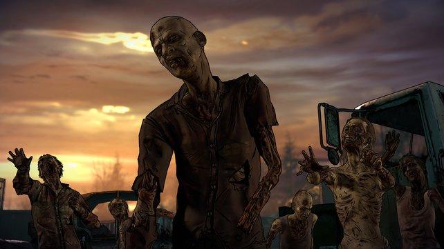 Zombies wohin man sieht. Doch sie sind nicht die einzige Bedrohung in einer erbarmungslosen Welt