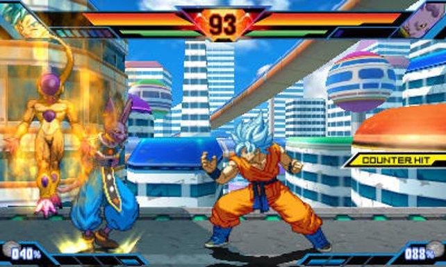 Son Goku legt sich mit dem Gott der Zerstörung an.