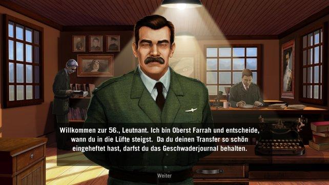Oberst Farrah heißt euch bei der 56. willkommen.