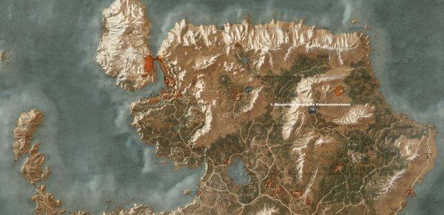 Katzenstahlschwert auf der Hauptinsel von Skellige