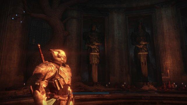 Der Eisentempel: Hier müsst ihr die Eiserner-Lord-Artefakte zur Einstimmung hinbringen.