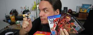WWE 2K15 als Hulkamania Edition in Uffruppe #156: Onkel Jo auf Tuchf�hlung mit Hulk Hogan