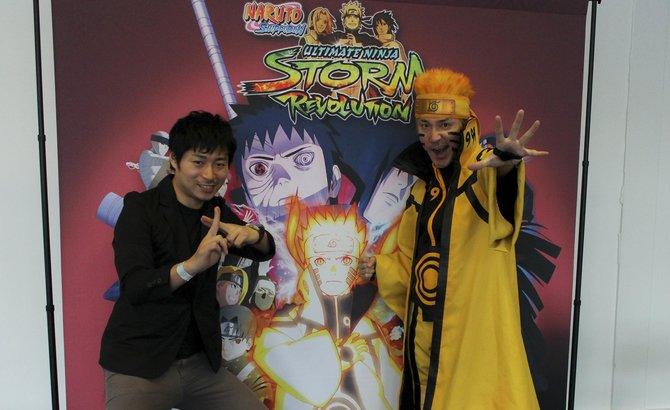 Daisuke Komoto und Hiroshi Matsuyama plaudern auf der Japan Expo über ihr Spiel ...