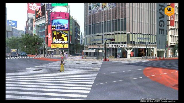 In Shibuya findet ihr einen Klienten für einen neuen Fall.