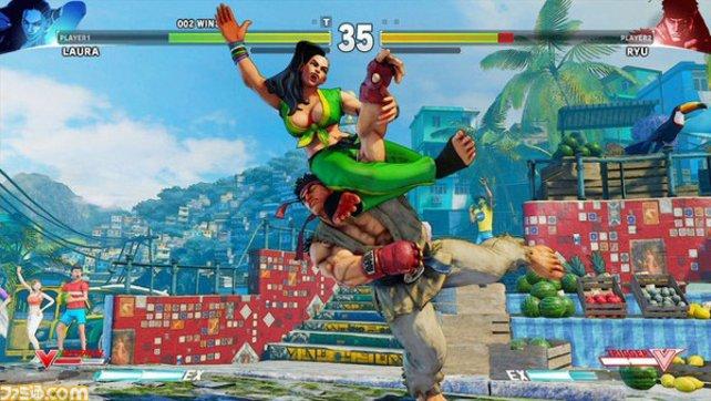Laura zeigt Ryu ihre Knotentechnik.