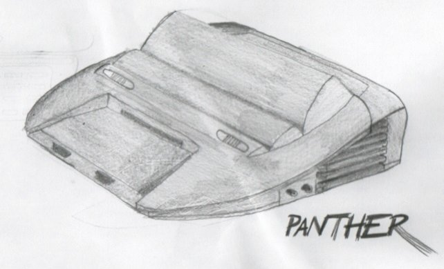 Ist es eine Fliechtasse? Ist es ein Schrabbokopter? Nein! Es ist der Prototyp des Atari Panther