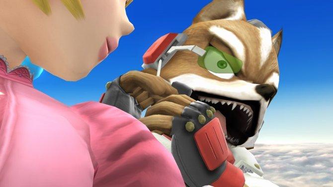 """In den """"Super Smash Bros.""""-Spielen agiert Fox nicht aus einem Cockpit heraus."""
