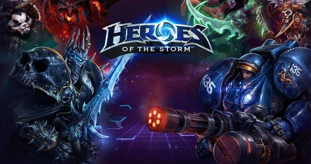 Alle Blizzard-Helden in einem Spiel.