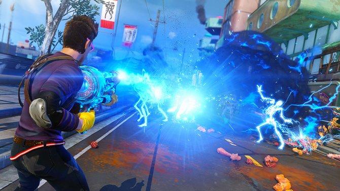 Herzlich Willkommen in Sunset City im Jahre 2027! Fette Wummen, überdrehte Explosionen, Mutanten und eine kunterbunte Welt sind die Markenzeichen von Sunset Overdrive.