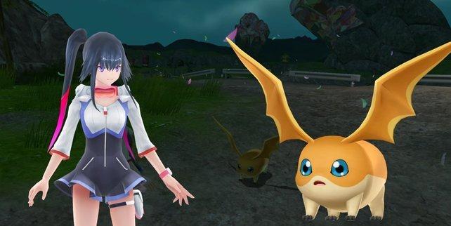 Patamon ist ein Rookie-Digimon und kann sich zu Angemon digitieren.