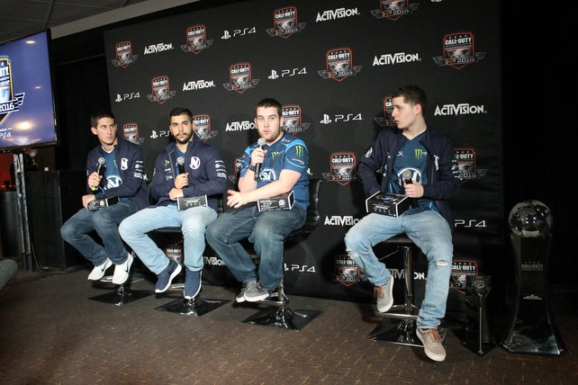 Team EnVyUs: Die Gewinner der Call of Duty World League Championship 2016.