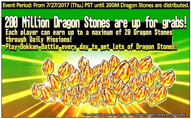 Es gibt viele Events, die euch mit Dragon Stones belohnen. Schaut immer mal wieder rein!