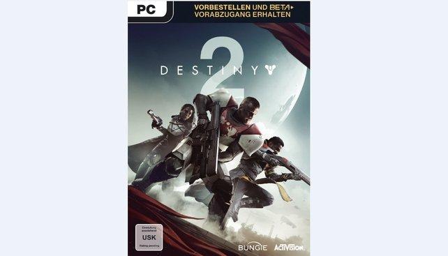 Titan, Jäger und Warlock: Der Packshot der Standard Edition für den PC.