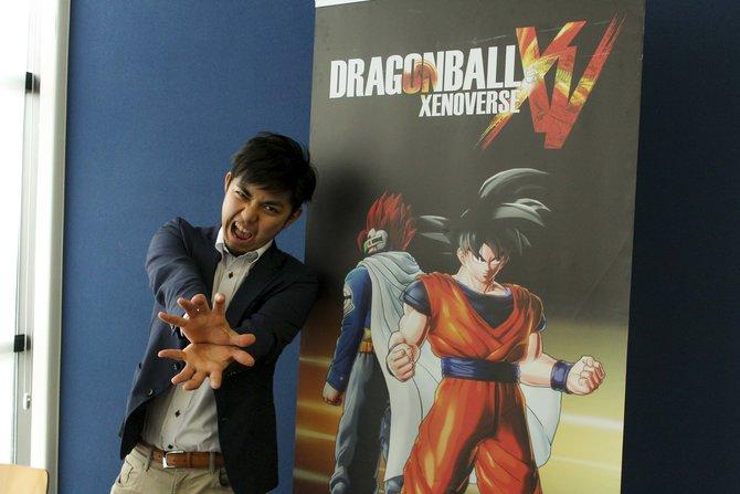 Im Interview schwärmt Masayuki Hirano vom neuen Dragonball Xenoverse.