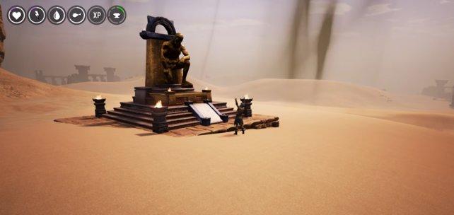 Der Altar für Mitra.