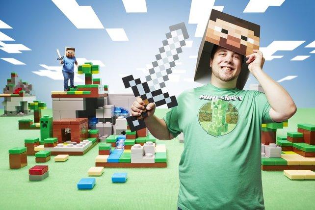 Martin Fornleitner zockte Minecraft länger als 24 Stunden und kommt damit ins Guiness Buch der Rekorde.