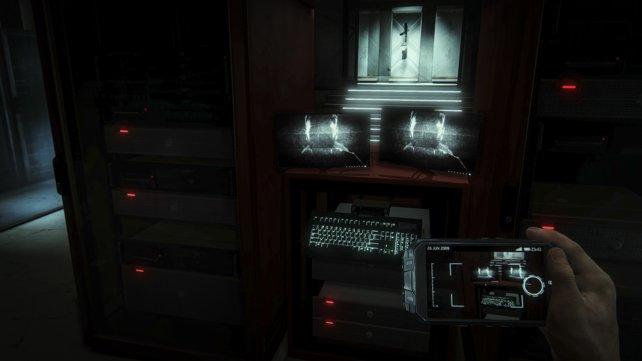 """Überraschung: Im Verlauf des Spiels ist klar, dass der Protagonist Cole Black eine """"Virtual Reality""""-Brille trägt."""