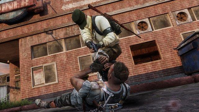 Die Gewaltdarstellungen im Mehrspieler-Modus sind nichts für Sanftmütige.