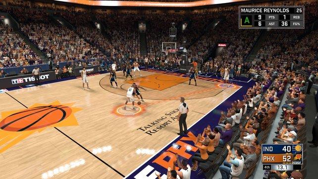 Selten war Basketball so schön und so umfangreich wie in NBA 2K17.