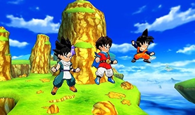 In Dragon Ball Fusions erstellt ihr euch einen eigenen Charakter, der Seite an Seite mit den bekannten Helden aus dem Universum kämpft.