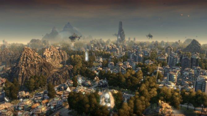 Anno 2070 ist auch heute noch schön anzuschauen.