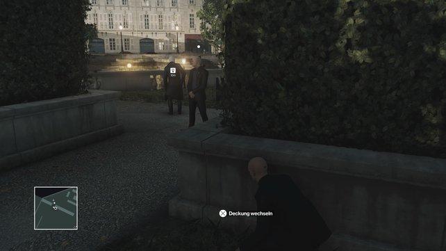 Helmut begibt sich auf ein abgeschiedeneres Plätzchen