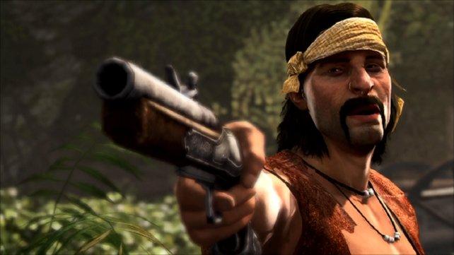 Black Bart, nicht zu verwechseln mit Blackbeard.