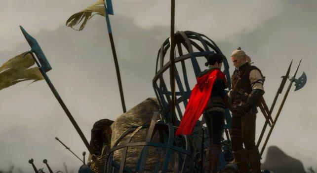 Auch im DLC-Blood and Wine wartet eine weitere Romanze auf Geralt von Riva.