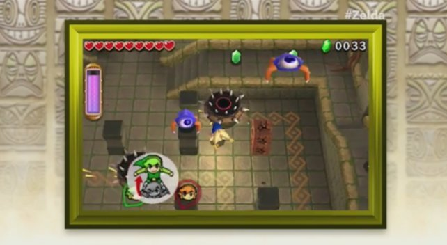 Das Spiel verwendet die Gleiche Grafik-Engine wie A Link Between Worlds.