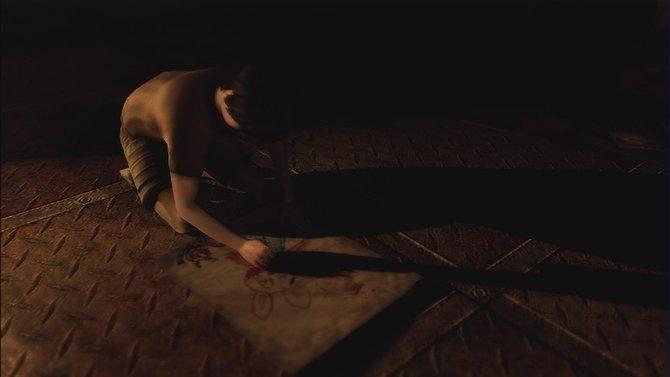 Joshua, Alex' kleiner Bruder, erscheint ihm im Traum.