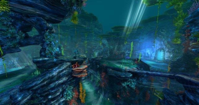 Das neue Gebiet Vengar aus der Aktualisierung 4.8 kann sich für ein Online-Rollenspiel durchaus sehen lassen.