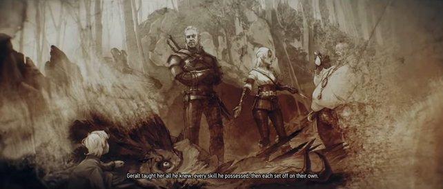 """Gibt es ein """"Happy End"""" für Geralt und Ciri?"""