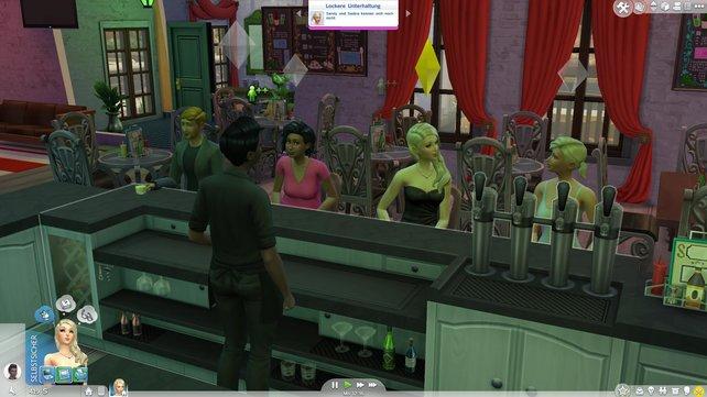 Noch nie waren die Sims so schnell miteinander befreundet - und wieder entfreundet.