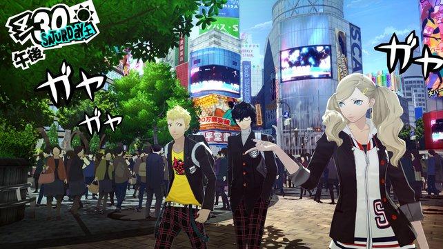 Die Spielgrafik lässt sich oft kaum von den Anime-Sequenzen unterscheiden.