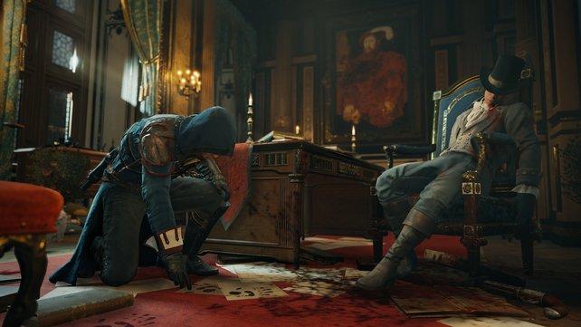 Arno kann in Nebenmissionen Detektiv spielen und Morde aufklären.