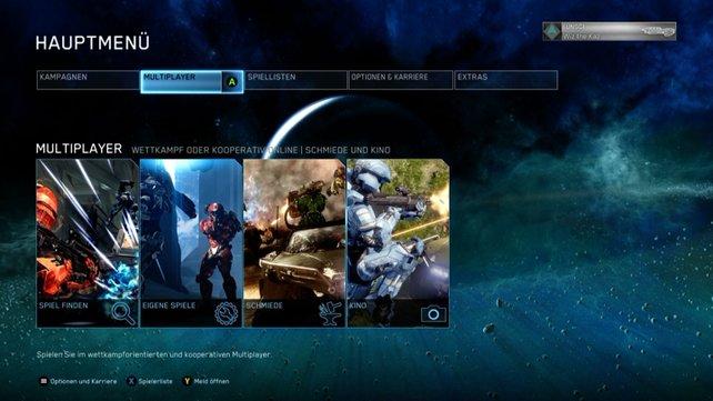 Im Mehrspieler-Modus stehen umfangreiche Optionen zur Verfügung.