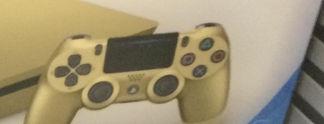PlayStation 4: Goldene Slim-Version gesichtet