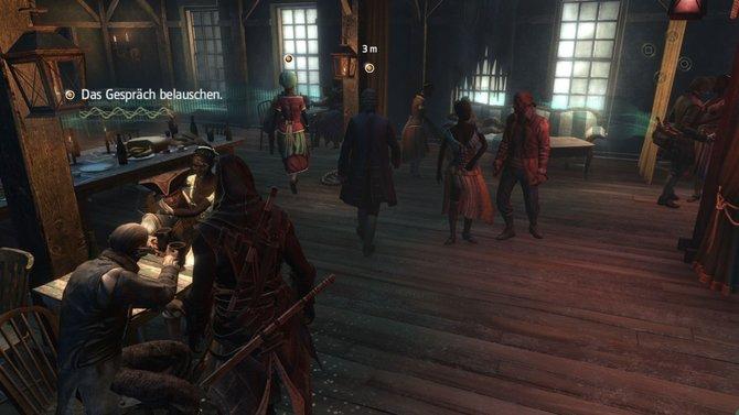 Schleichen, morden, lauschen: Schrei nach Freiheit erinnert spielerisch stark an Assassin's Creed 4.