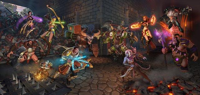 Mehr Vielfalt für Orcs Must Die! - Unchained: Demnächst dürfen die Helden auch miteinander kämpfen!