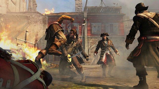 Zuvor ein Assassine, jetzt auf Seiten der Templer. Shay Patric Cormac ist der neue Held in Assassin's Creed - Rogue.