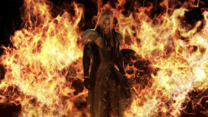 Sephiroth, der Bösewicht aus Final Fantasy 7 spielt gerne mit dem Feuer.