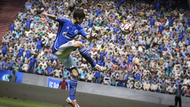 Spieler wie Uchida können sich bei größeren Vereinen wie dem FC Schlake gut im Karrieremodus beweisen.