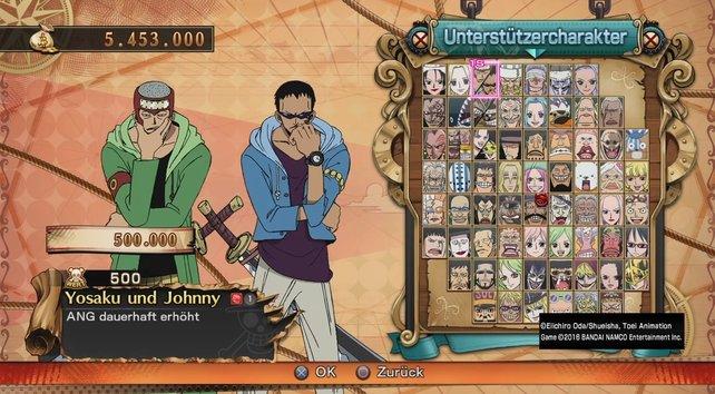Yosaku und Johnny: Diese Unterstützercharaktere erhöhen euren Angriff.
