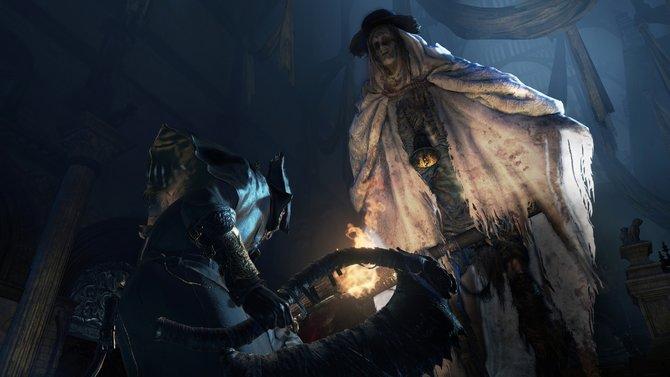 Düster und brachial präsentiert sich Bloodborne.